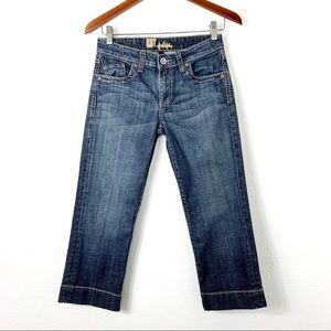 Kut From The Kloth Crop Jeans Blue 2
